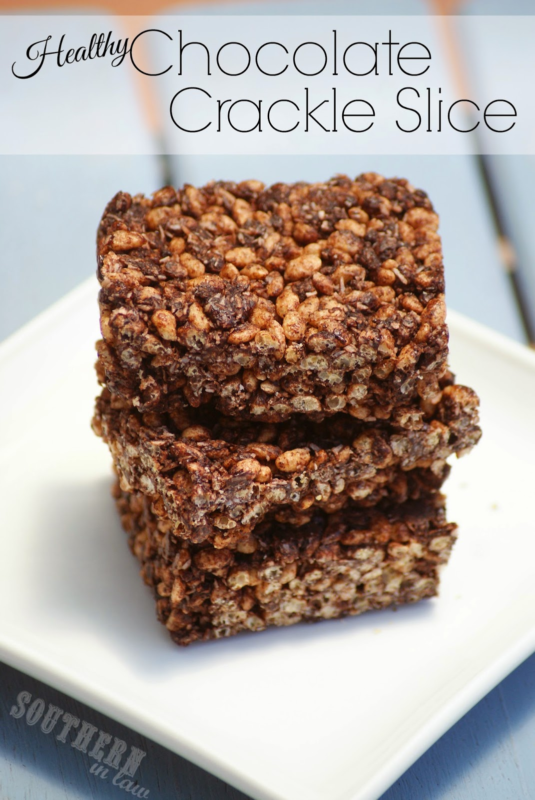 Gluten Free Chocolate Crackle Recipe - Chocolate Coconut Rice Krispy Treats