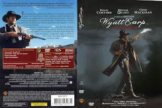 Carátula dvd de la película Wyatt Earp