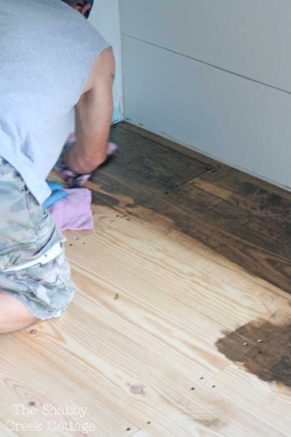 DIY wood floors (and an upcoming project sneak peek!) - DIY Wood Floors