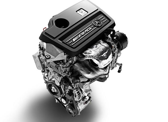 2018 Mercedes-AMG A43 Drivetrain