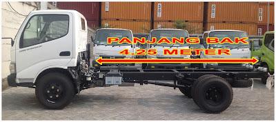 panjang truk hino dutro 110 hd