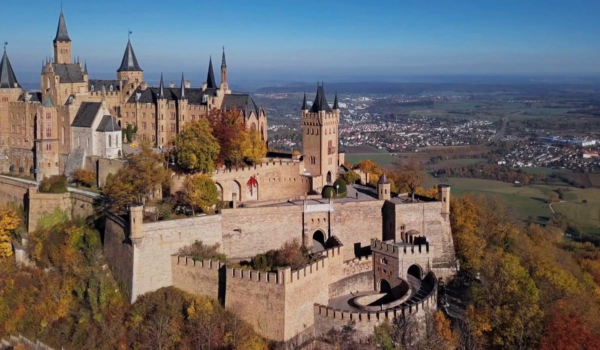 10. Castelo de Hohenzollern (Alemanha)
