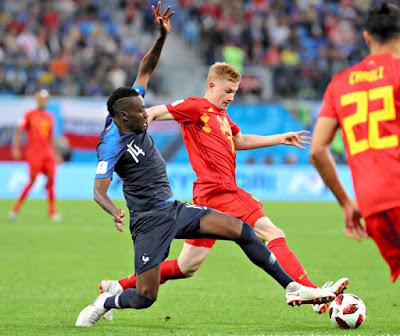 2018FIFAワールドカップ フランス対ベルギー