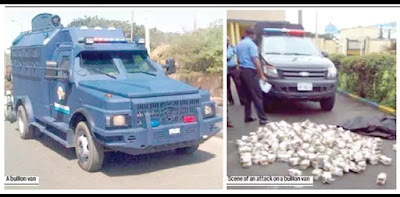 Bullion van ambushed by armed on Asaba-Benin expressway,