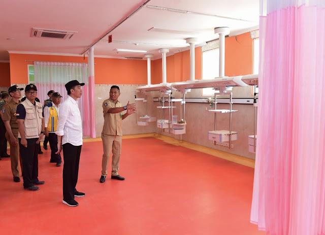 Jokowi Targetkan Perbaikan Rumah Sakit di Lombok Selesai dalam Dua Bulan
