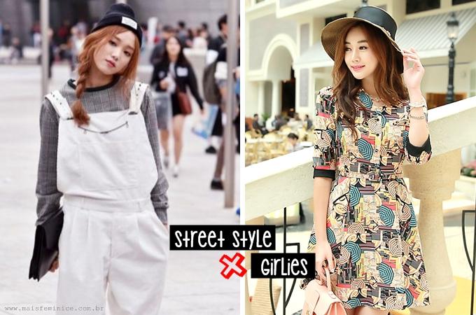 Moda Coreana: street style x girlies