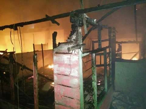 Rumah Warga Pusong Lama Terbakar