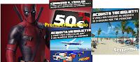 Logo Vinci gratis buoni Amazon,Gamestop,Boxeur Des Rues, voli aerei, Blaster Nerf e buoni Spizzico
