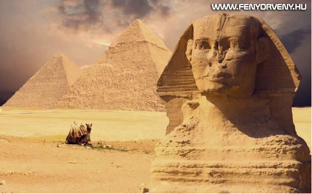 A piramisok és a szfinx valódi kora