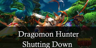 Aeria Games Announces Closure of Dragomon Hunter