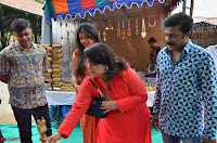 Sakshi Agarwal  in Orange Saree at Inauguration of Handloom And Handicraft exhibition ~  Exclusive 24.JPG