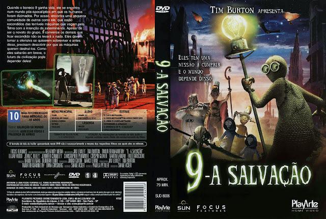 Capa DVD 9 A SALVAÇÃO