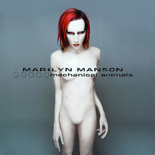 "La pochette de l'album ""Mechanical Animals"""