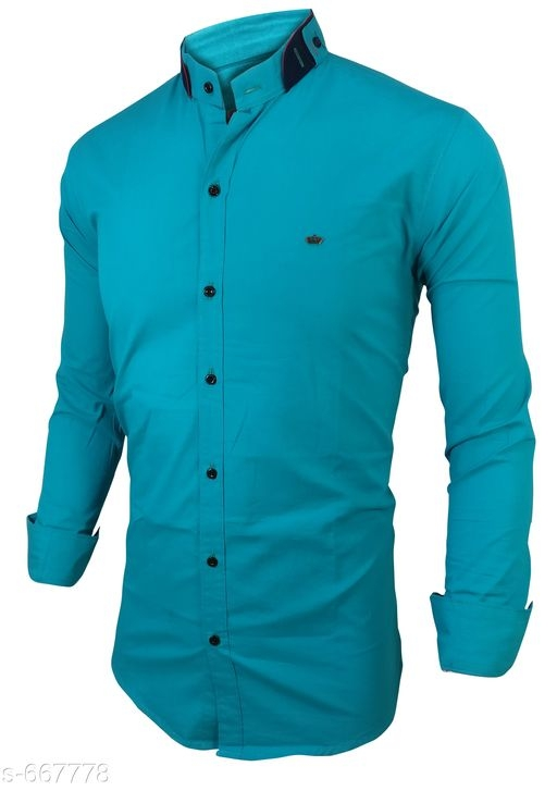 Men's Standard Slim Fit Cotton Shirts Vol 1 [S-667778]