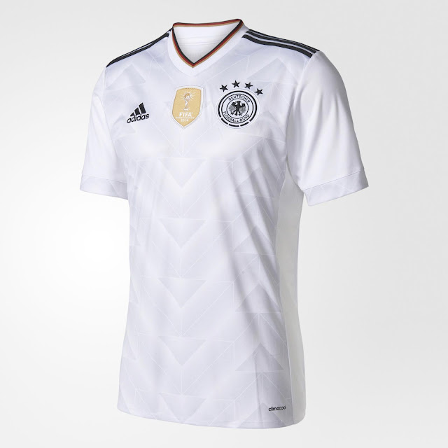 Germany 2017 Confederation Cup Home, Away Jersey
