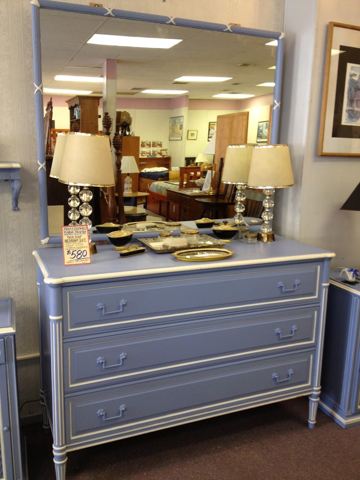 charming antique white wash furniture | C. Dianne Zweig - Kitsch 'n Stuff: Charming French Blue ...