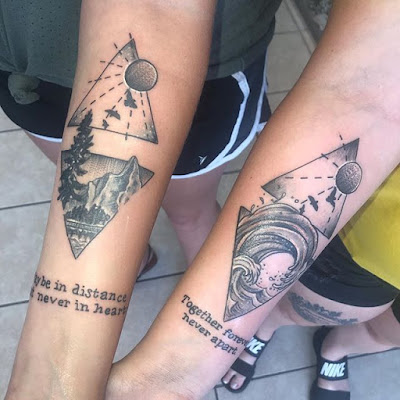 m not saying that sister tattoos can make your sisterly relationship any stronger +23 Amazing Sister Tattoos Styles Ideas To Copy In 2019