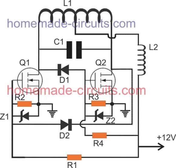 alternative induction heater design