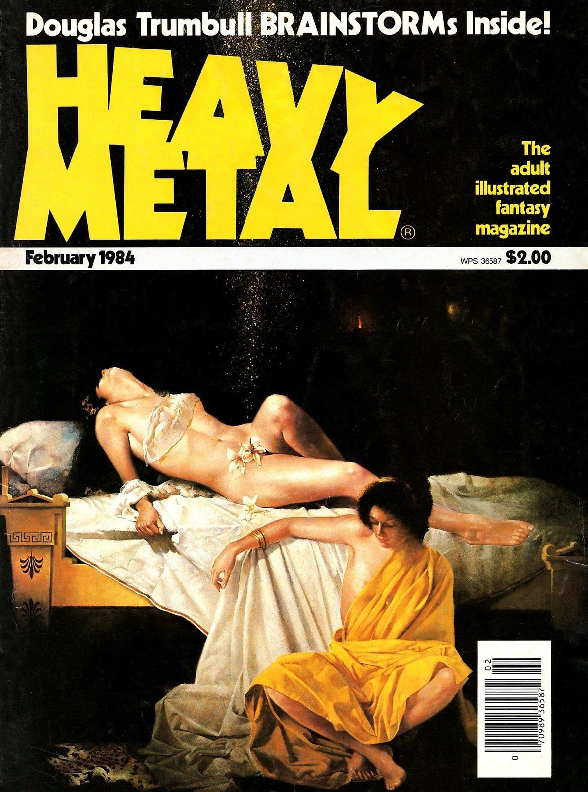 Images: A Fantastic Collection Of Stunning Sci-Fi And Fantasy Based Heavy Metal Comic Book Covers From 1983 And 1984