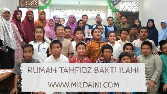 Rumah Tahfidz Bakti Ilahi Bengkulu