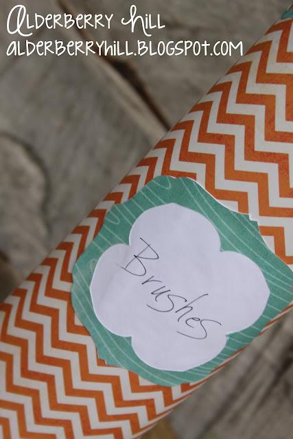 storage solution craft supplies organizer recycled
