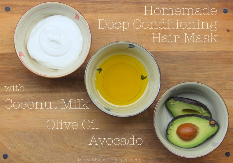 The Makings Of Nk Diy Hair Mask Avocado Coconut Milk