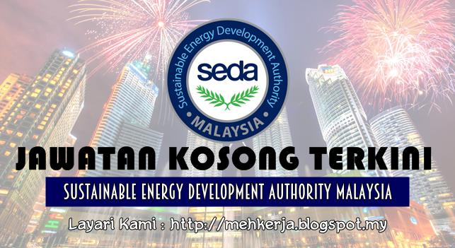 Jawatan Kosong Terkini 2016 di Sustainable Energy Development Authority of Malaysia (SEDA Malaysia)