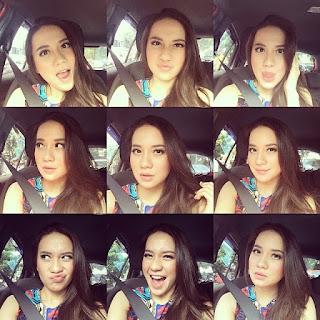 Christie Julia selfie - Ciri-ciri Sifat / Kebiasaan Umum Orang Indonesia di Instagram