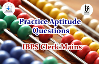 Aptitude Questions (Simplification) for IBPS Clerk Mains