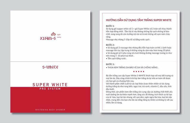 Tải tở hướng dẫn sử dụng super white swhite