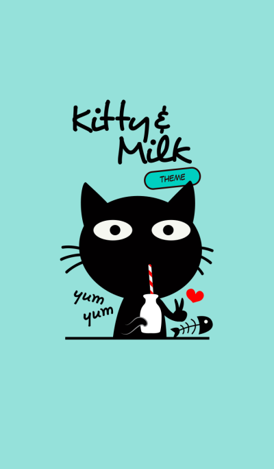 Kitty and Milk