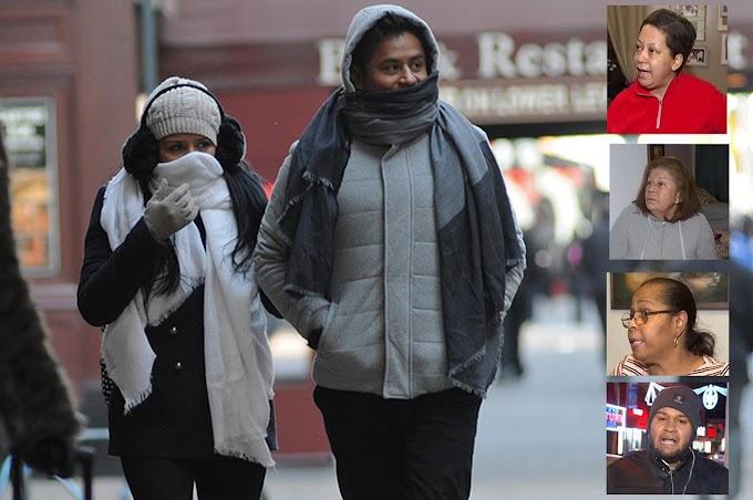 """""""Este fríaso nos tiene al garete"""" claman dominicanos golpeados por la masa polar"""