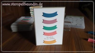 Stampin' Up! ; Jessika Tschenscher; Katalog 2016 2017; Bannerweise Grüße; Für Lieblingsmenschen