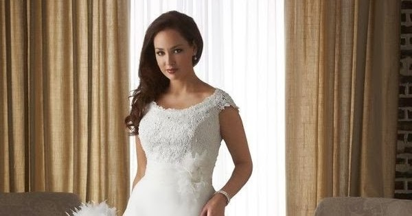RainingBlossoms: 2014 New Plus Size Wedding Gowns In