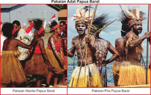 baju adat papua barat