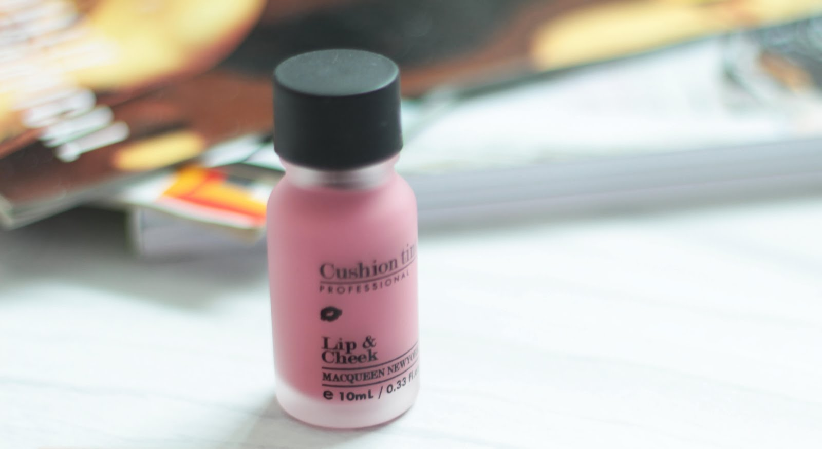 macqueen new york korean beauty lip and cheek tint review first impressions