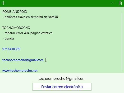 escribir correo electrónico