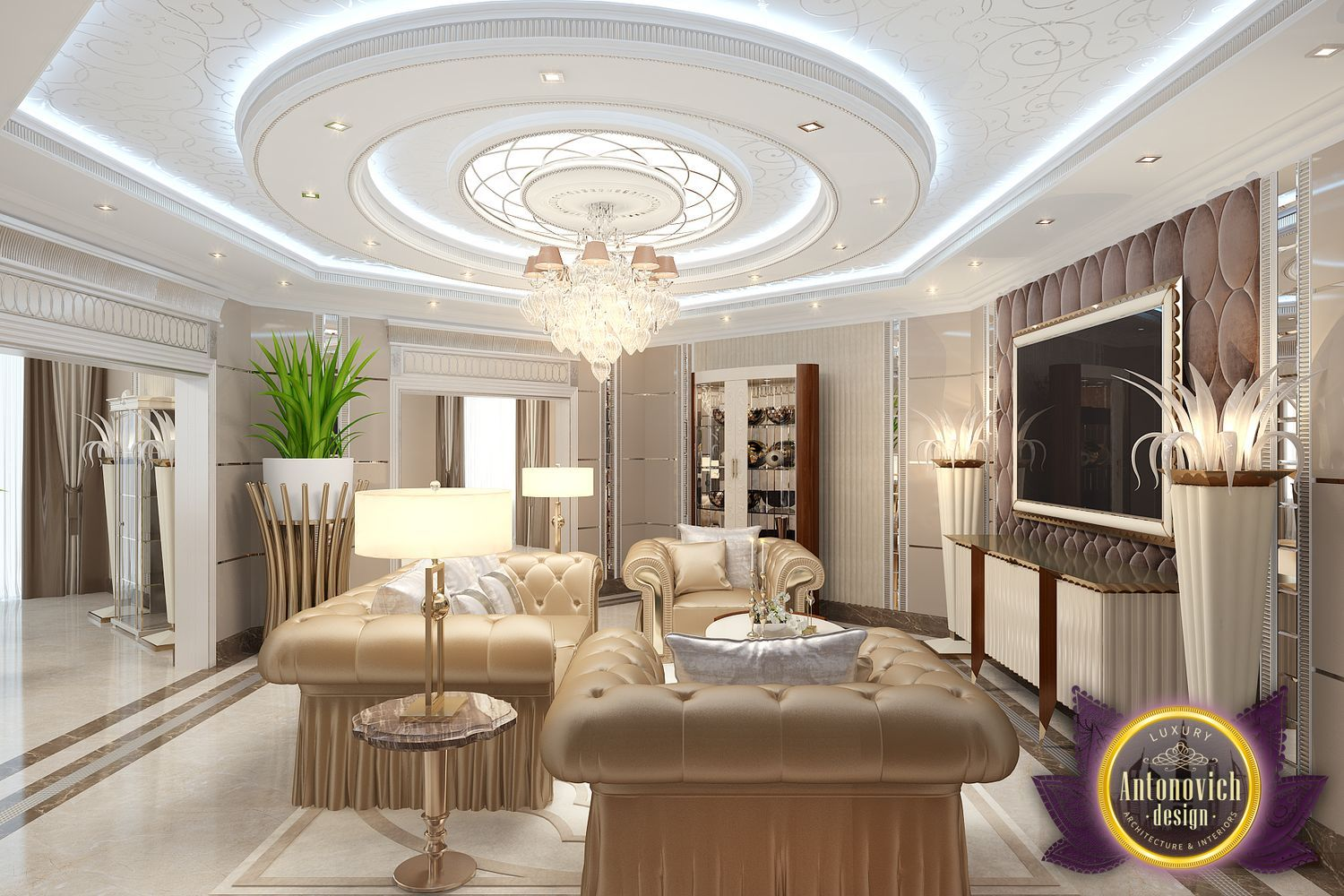 Luxury Interior Designs: Kenyadesign: Living Room Decoration Ideas By Luxury