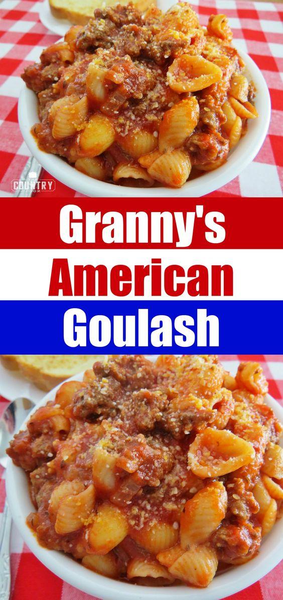 Grandma's Goulash