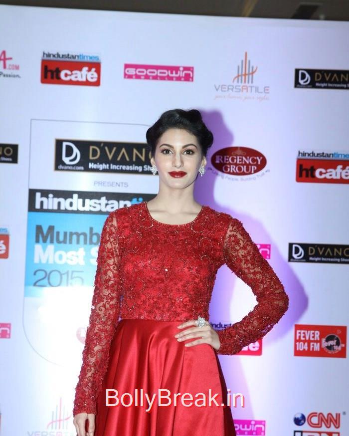 Amyra Dastur, Mumbai's Most Stylish Awards 2015 Full Photo Gallery