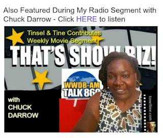 That's Show Biz with Chuck Darrow Radio Movie Segment