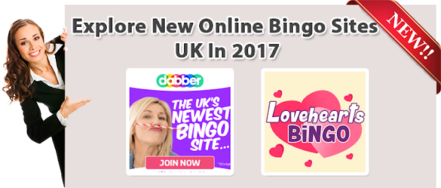 New Bingo Sites UK 2017