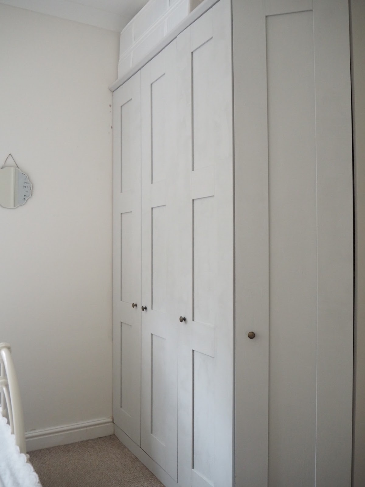 transforming melamine glass wardrobes dove cottage. Black Bedroom Furniture Sets. Home Design Ideas