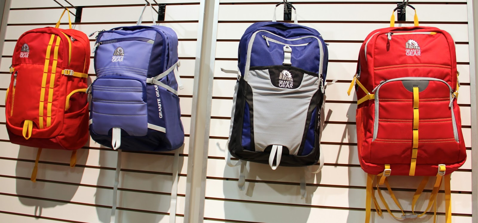 Granite Gear Goes To School Barrier Backpacks Campus Fall