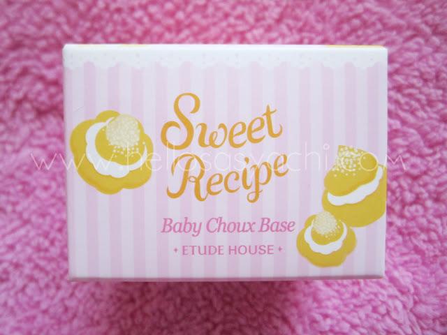 Sasyachi Beauty Diary: ETUDE HOUSE SWEET RECIPE BABY CHOUX