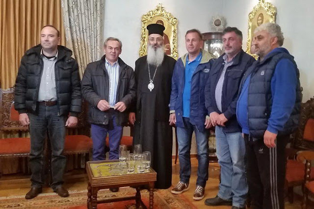 Συνάντηση Μητροπολίτη Αλεξανδρούπολης με αγρότες
