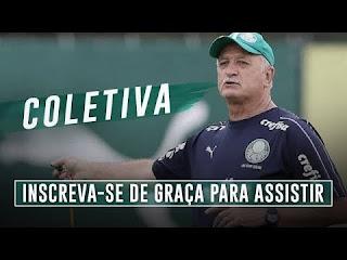 Coletiva do técnico Felipão após o jogo, São Paulo 0 x 0 Palmeiras
