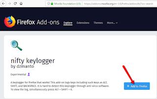 Cara gampang Mencuri Password akun Orang lain dengan Keylogger