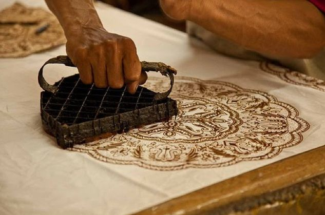 cara membuat batik cap