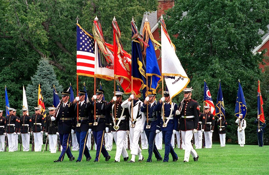 http://en.wikipedia.org/wiki/Flags_of_the_United_States_Armed_Forces